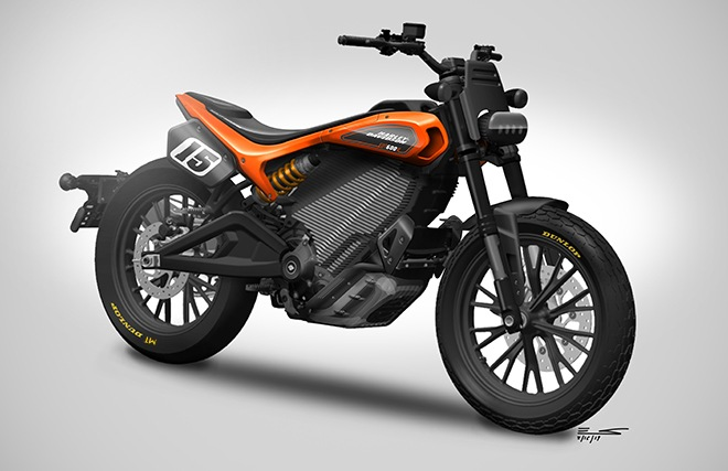 Harley electric flat tracker