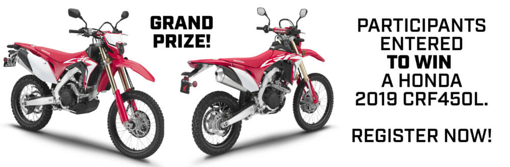 Ad for the grand prize at the 2019 Klim Cow Tagz XL event.