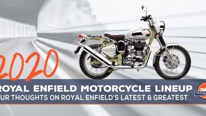 2020 Royal Enfield motorcycle models