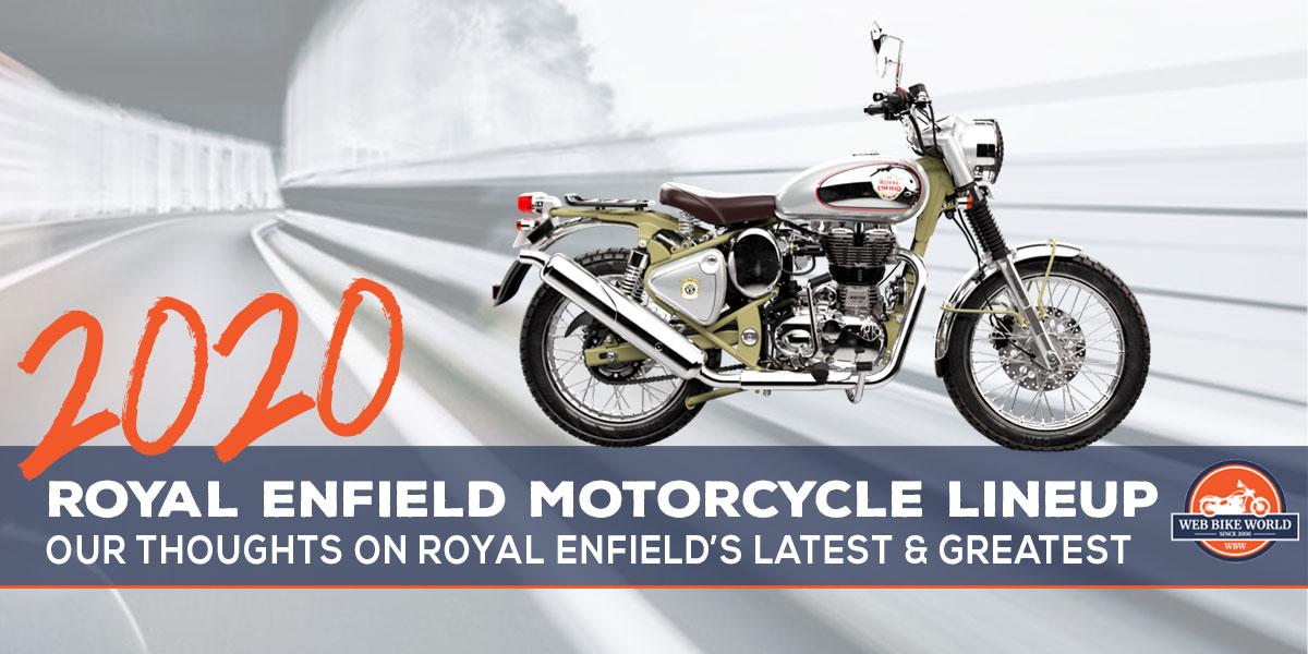 2020 Royal Enfield motorcycle models