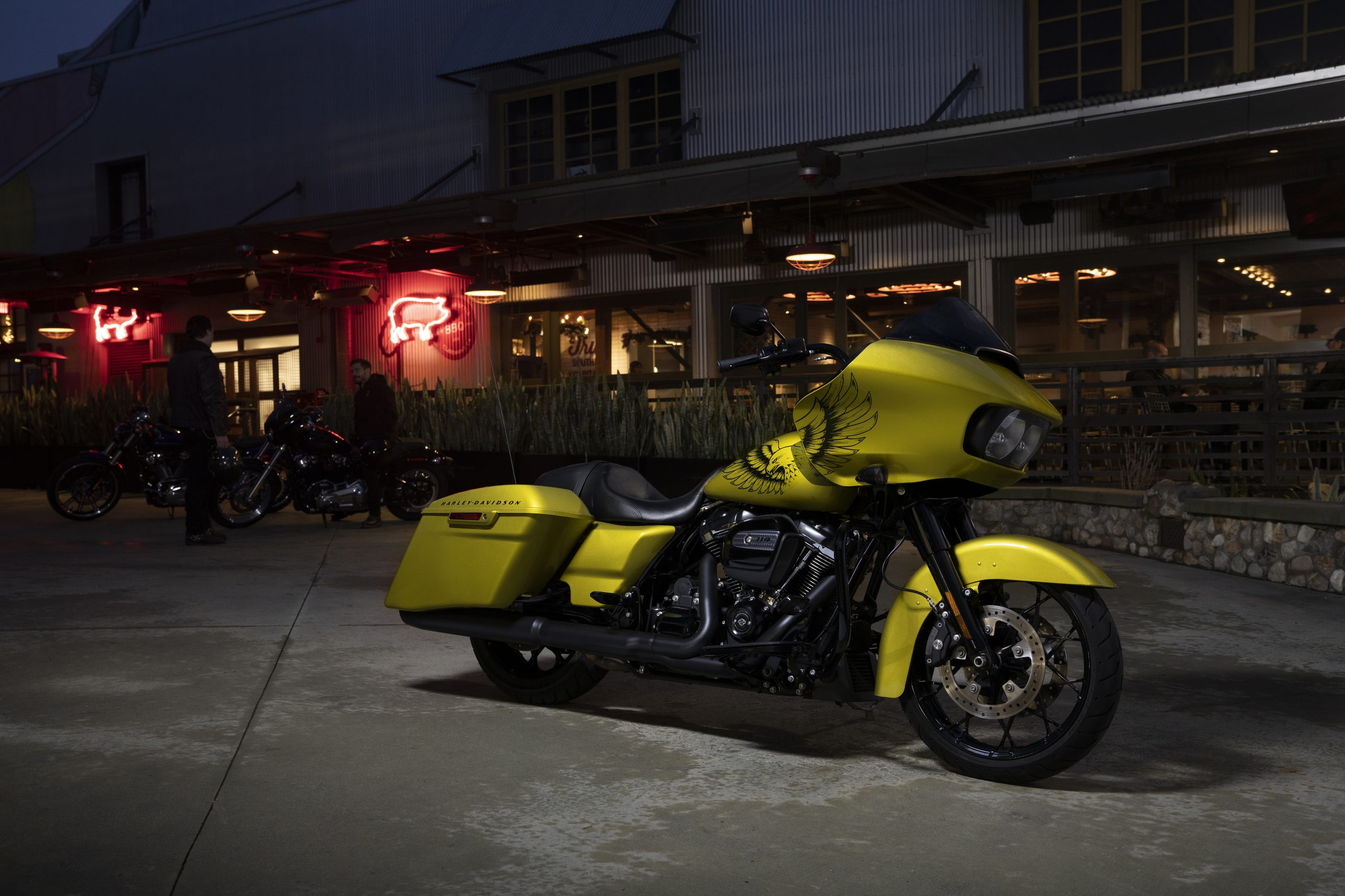 harley davidson road glide special with eagle eye special edition paint