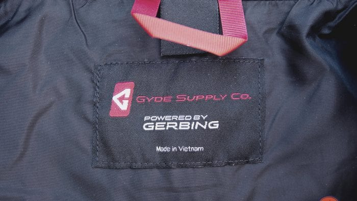 Gerbing heated vests are manufactured in Vietnam.