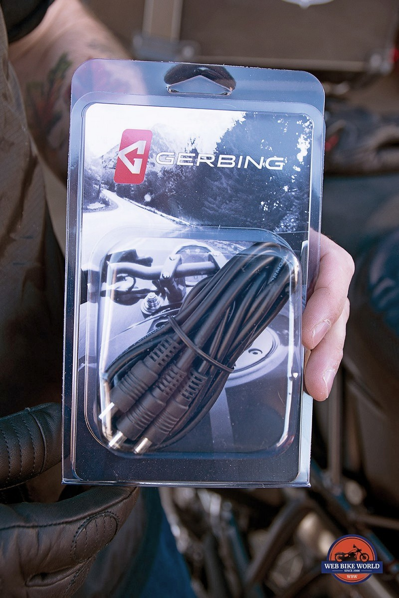 A Gerbing electrical harness.