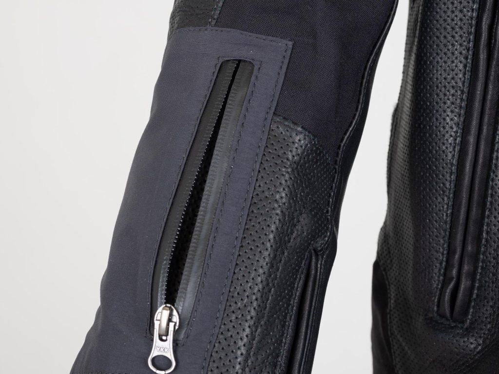 Aerostich Transit 3 Two Piece Suit Arm Zipper Vent