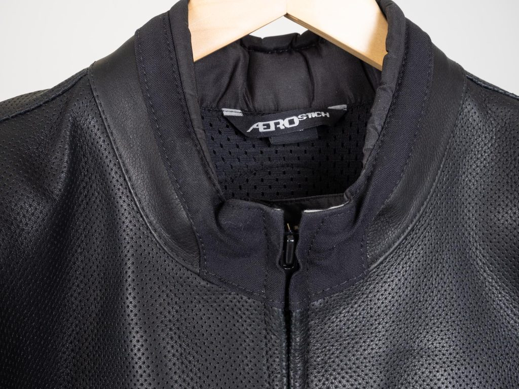 Aerostich Transit 3 Two Piece Suit Jacket Collar