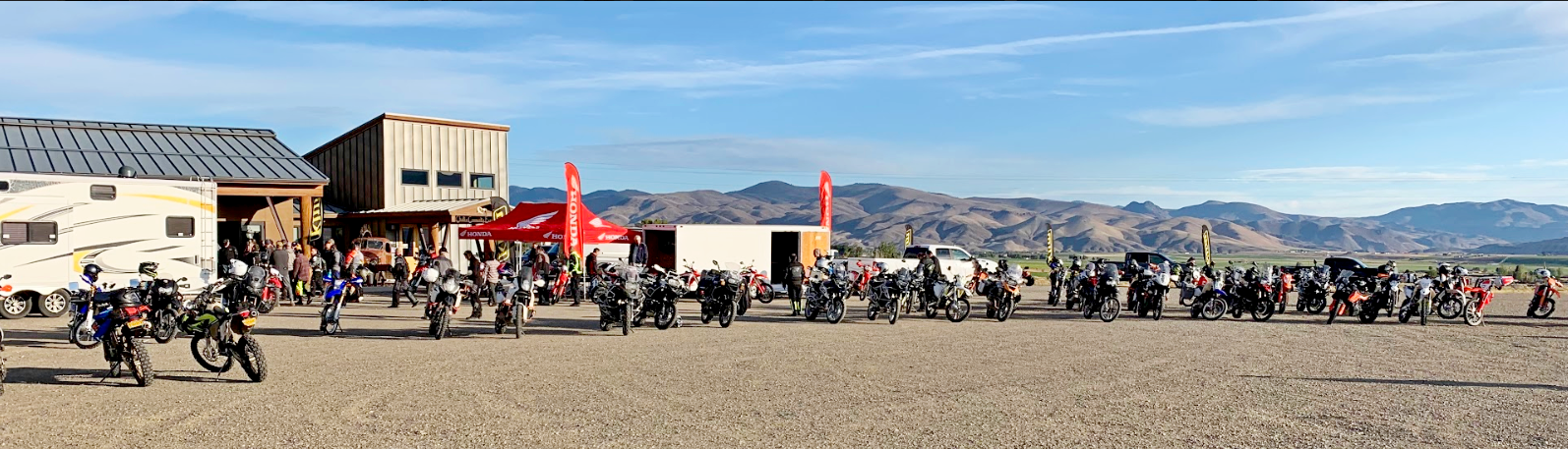 The Klim Cow Tagz Rally 2019.