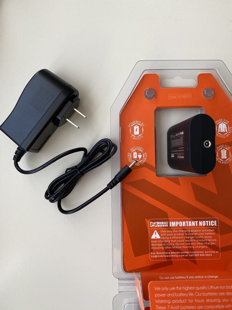 Mobile Warming Phase Hoodie Battery Pack