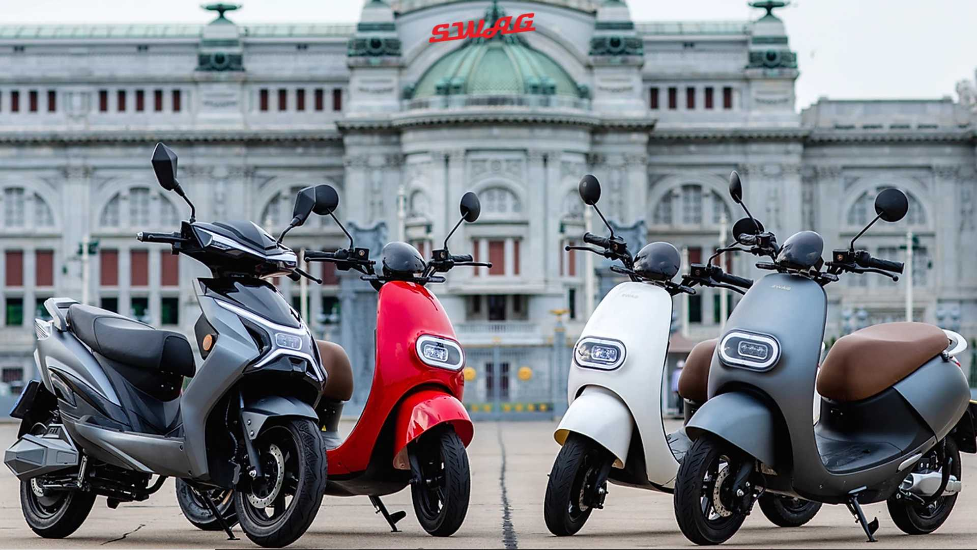 Swag EV electric scooters