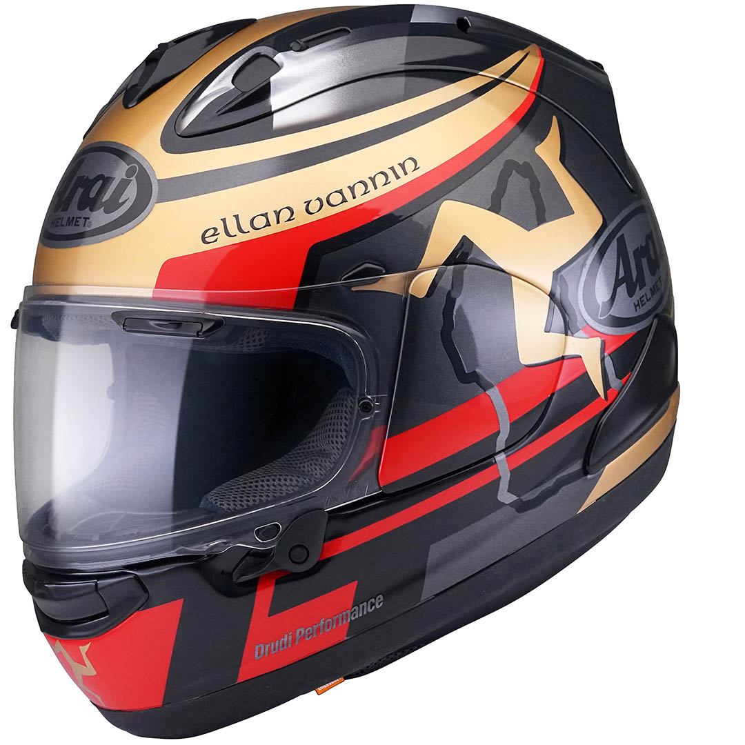 Isle of Man TT Arai helmet