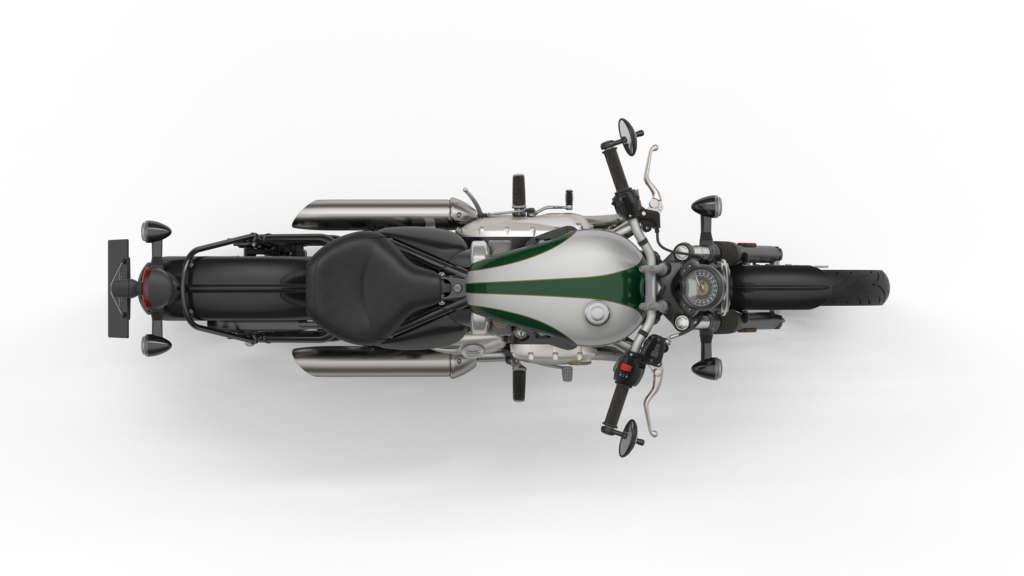 2020 Triumph Bonneville Bobber / Bobber Black