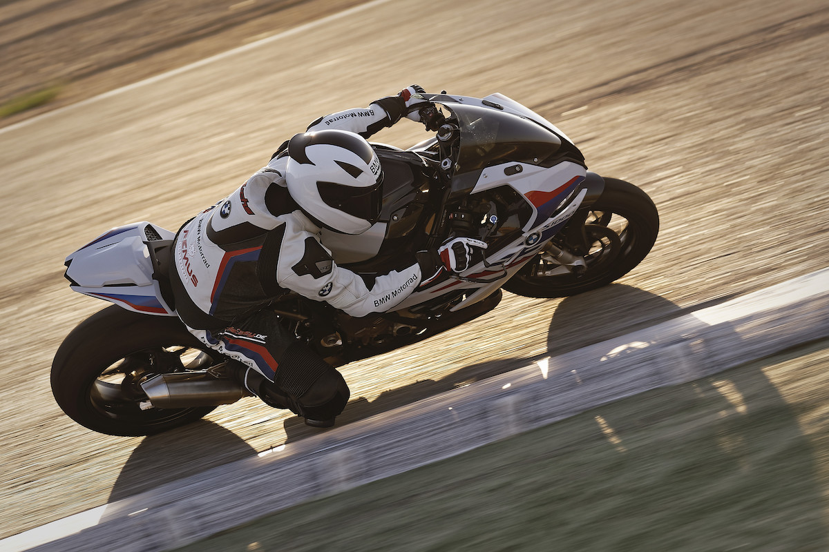 BMW S 1000 RR with M performance parts on it