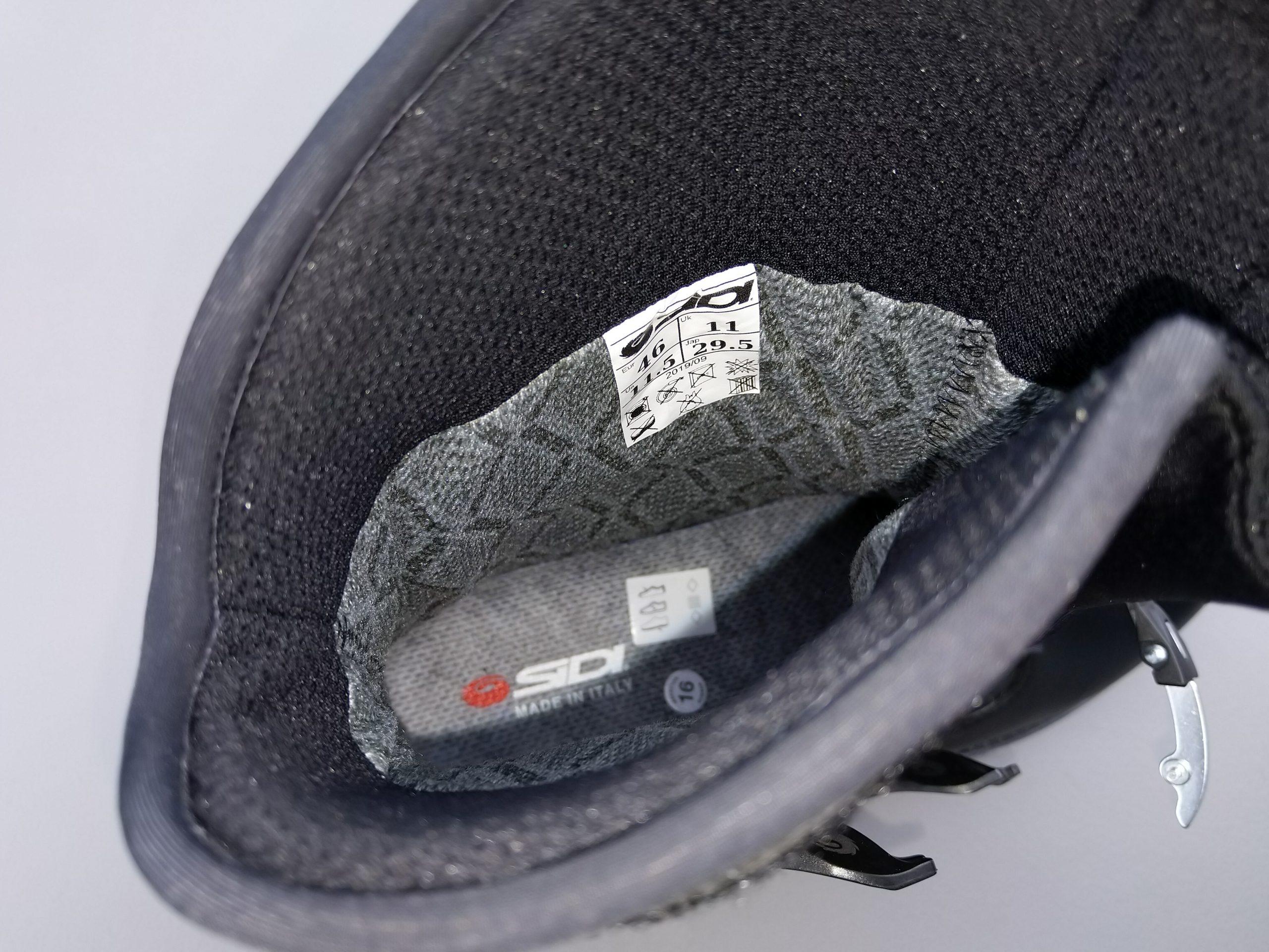 2020 SIDI Adventure 2 Gore-Tex Mid Boots interior membrane