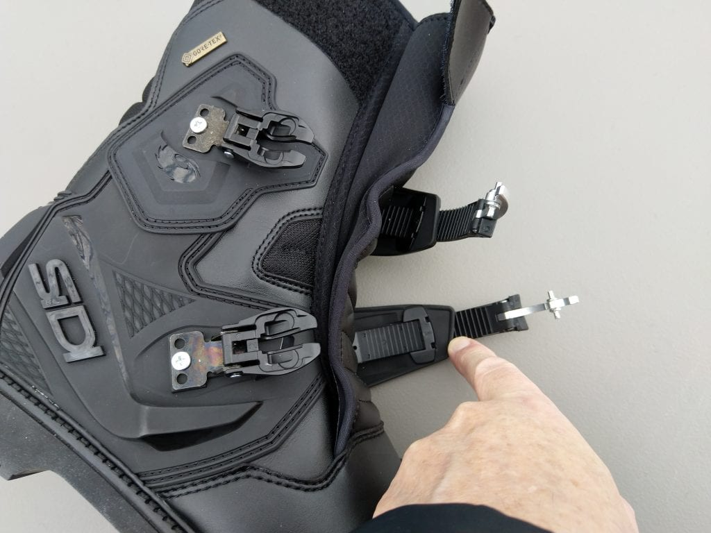 2020 SIDI Adventure 2 Gore-Tex Mid Boots buckles and straps