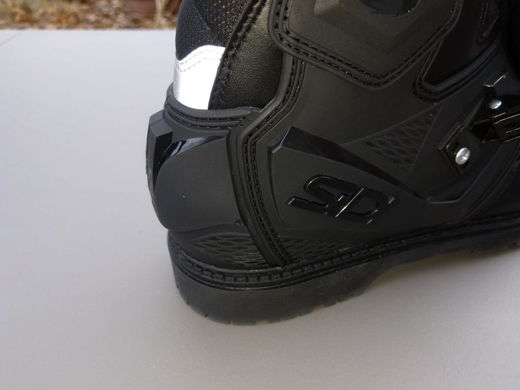 2020 SIDI Adventure 2 Gore-Tex Mid Boots heels