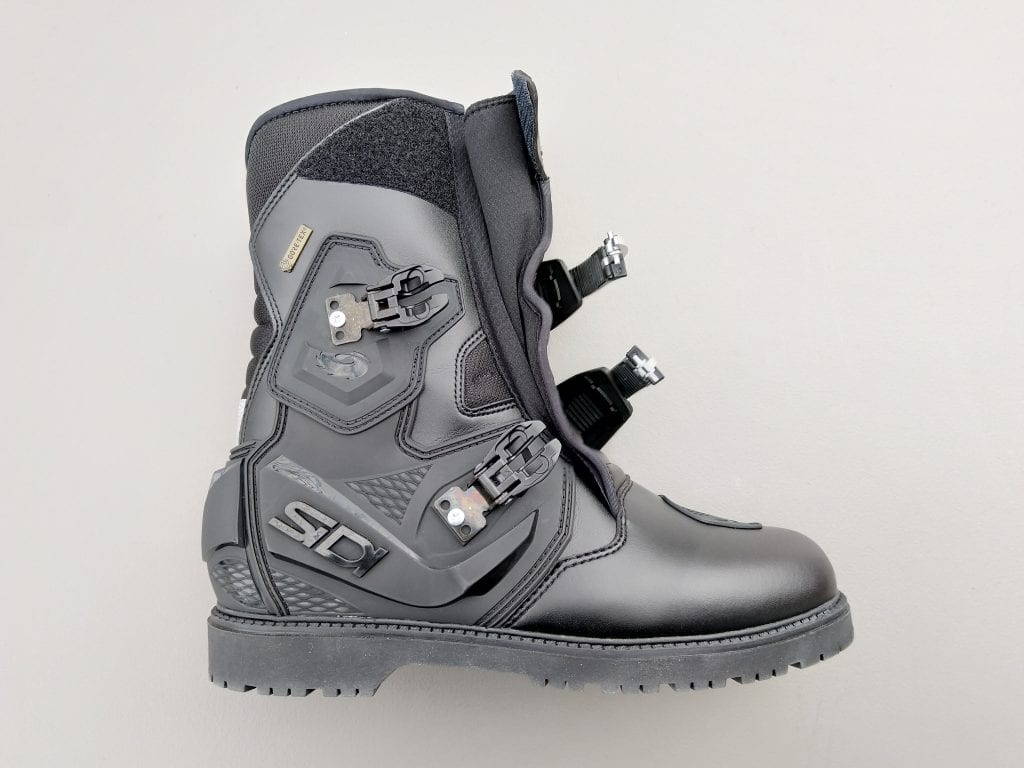 2020 SIDI Adventure 2 Gore-Tex Mid Boots buckles and closures