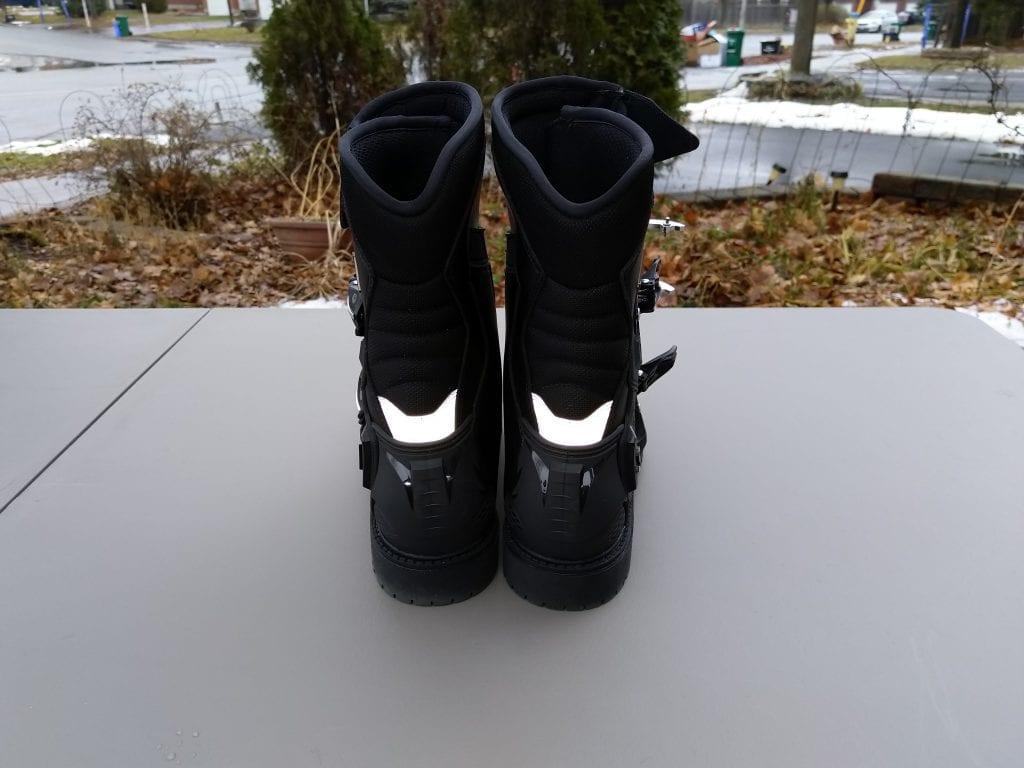 2020 SIDI Adventure 2 Gore-Tex Mid Boots reflective material