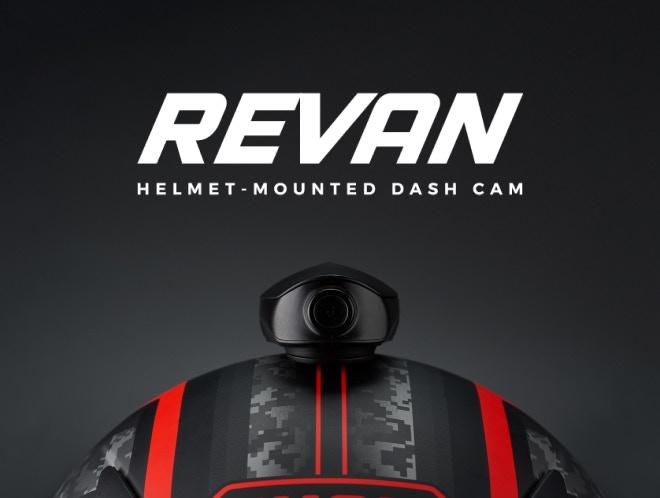 Revan helmet camera