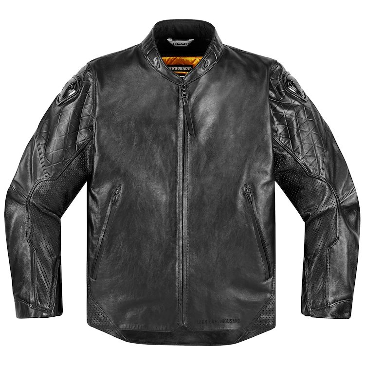 icon 1000 retrograde jacket black