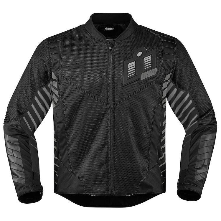 icon wireform jacket black