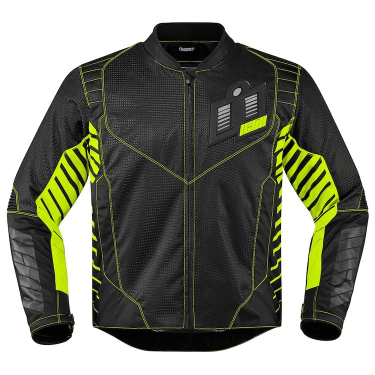 icon wireform jacket green