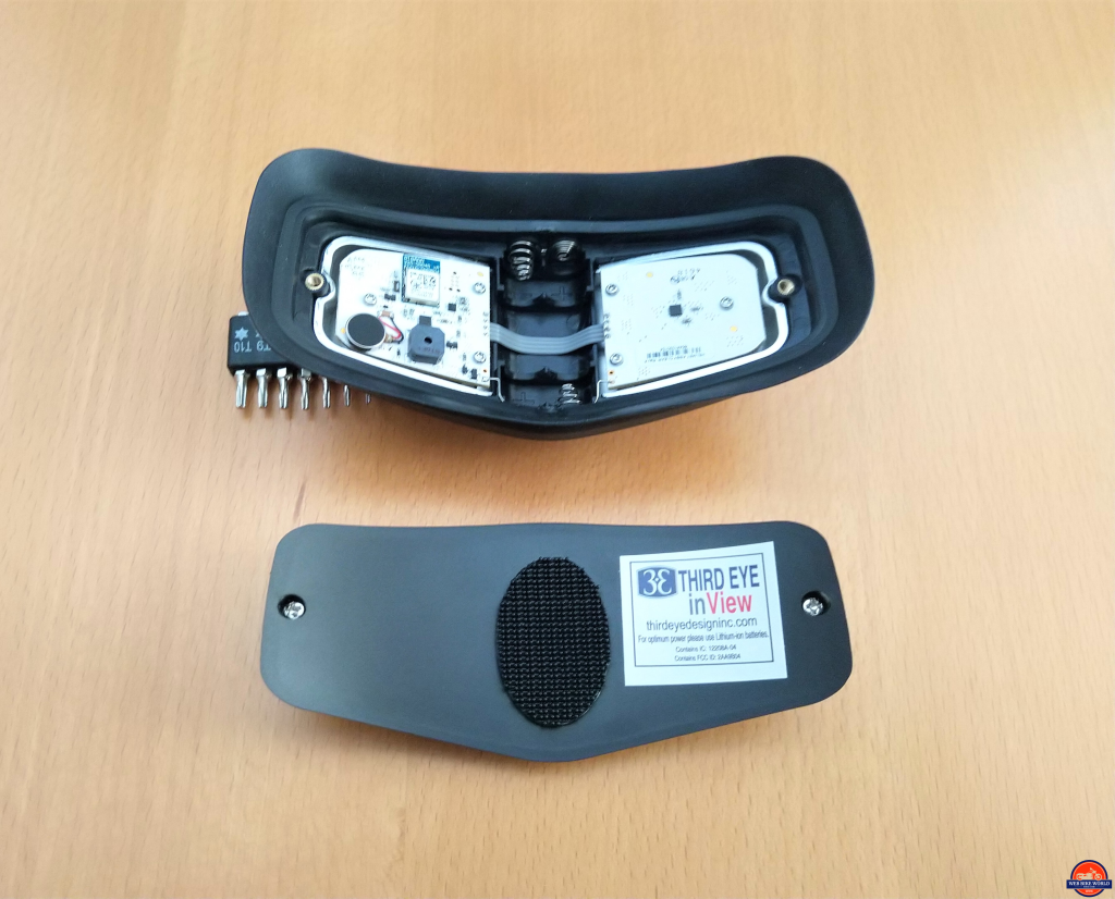 inView, Component, helmet module with backing cover removed