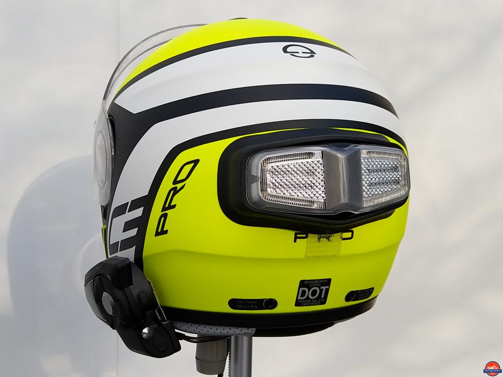 inView, Helmet Module on Schuberth C3 Pro Echo, view 3