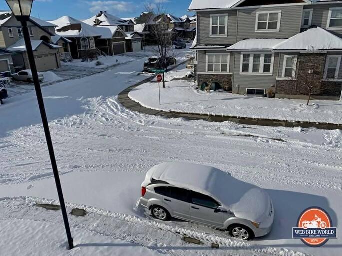 Calgary winter.