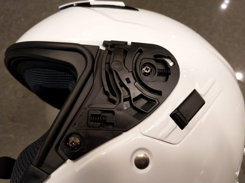 Shoei J-Cruise II with faceshield removed
