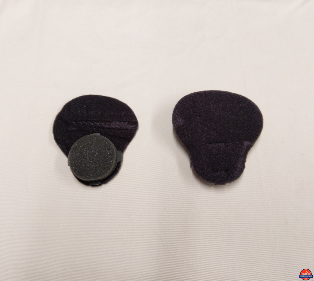 Shoei J-Cruise II, ear pad pieces, with foam rounds