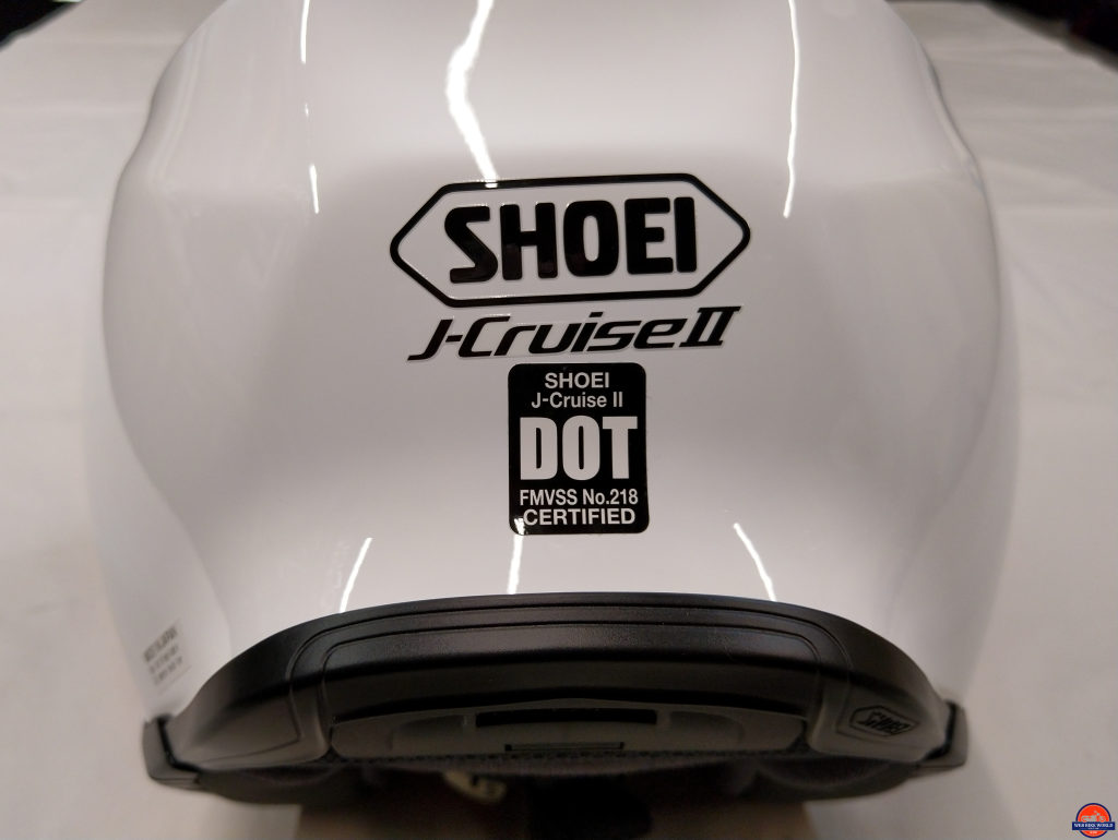 Shoei J-Cruise II, misaligned decals, not a good first impression