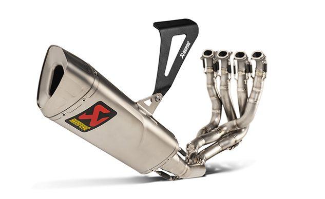Akrapovič exhaust for Honda cbr1000RR-R