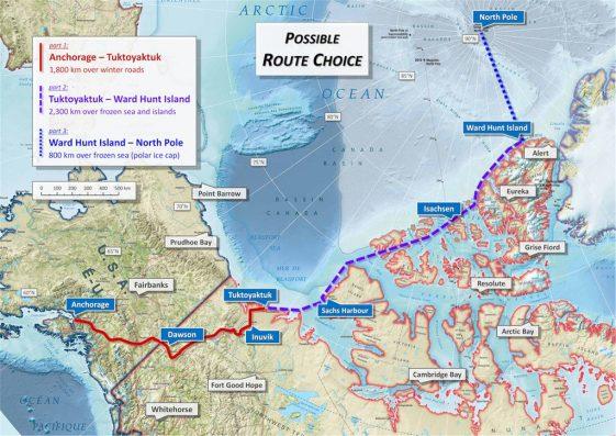 sjaak lucassen north pole route