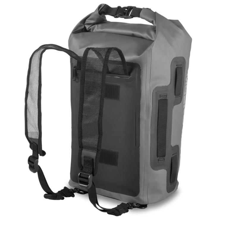 The 22L Stinger duffle bag from the Mosko Moto luggage lineup