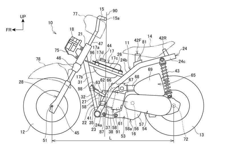 honda mini bike