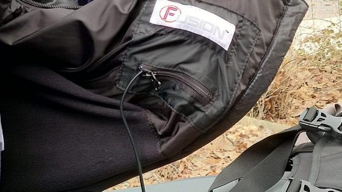 volt heat fusion vest pockets