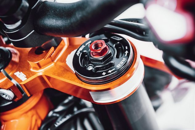 KTM WP Suspension upgrades