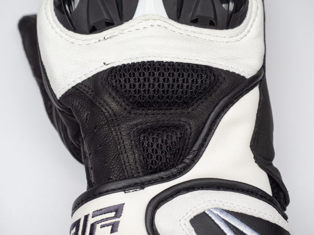 alpinestars sp air gloves mesh panels
