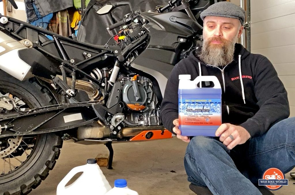 engine ice coolant wbw review
