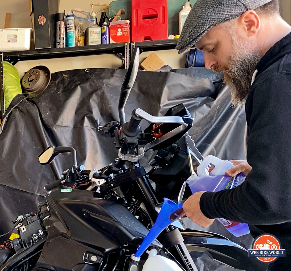 Installing Engine Ice Coolant in my KTM 790 Adventure.