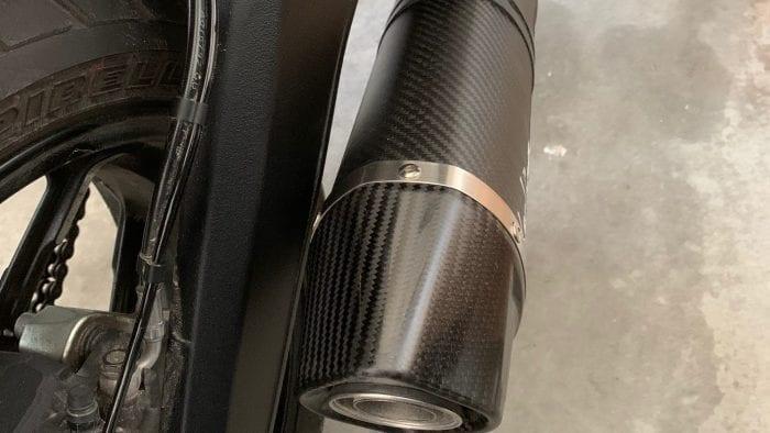 LeoVince Exhaust on 2019 Ducati Scrambler Icon