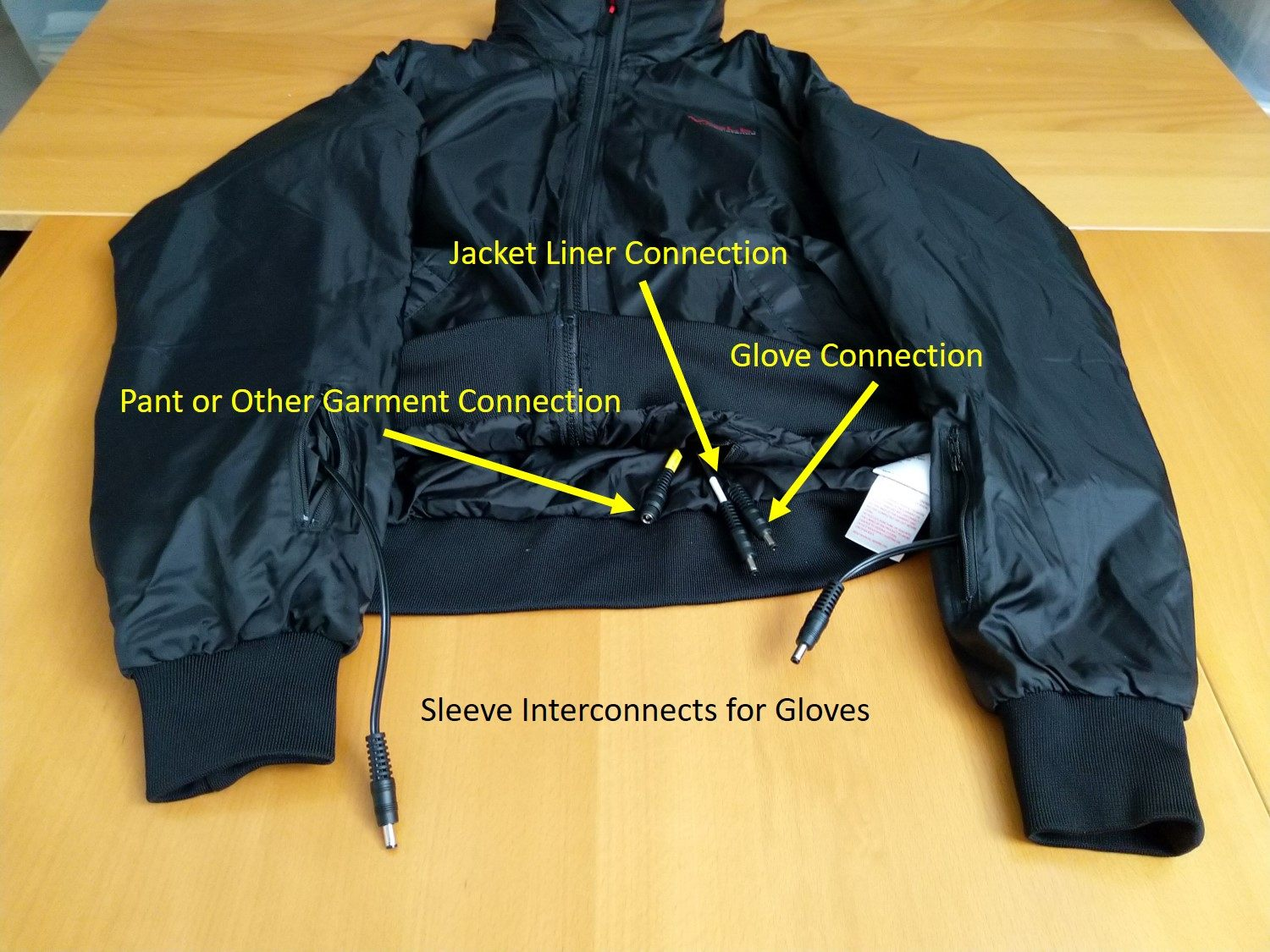 Jacket Liner Design Features