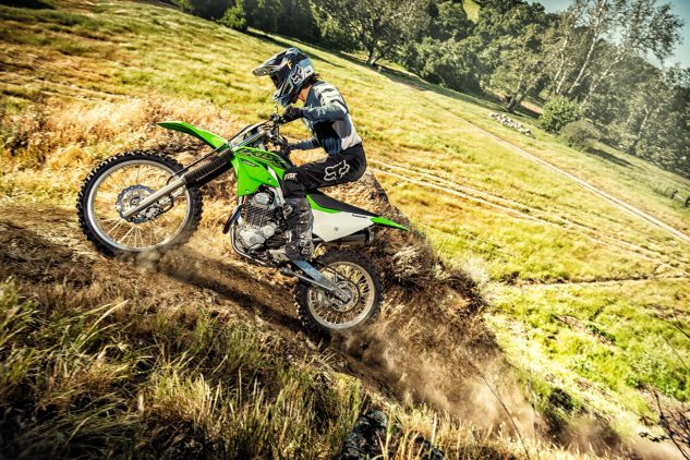 Kawasaki off-road lineup