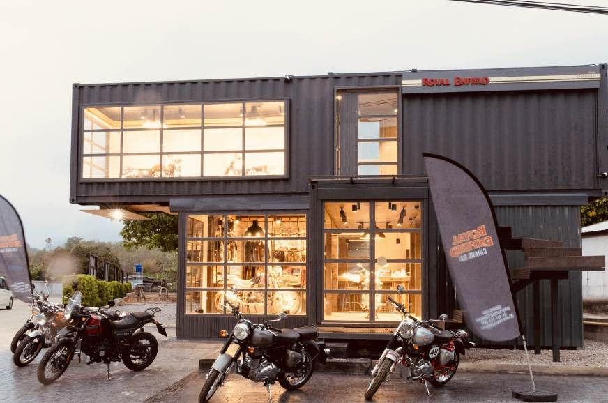 royal enfield mobile showroom