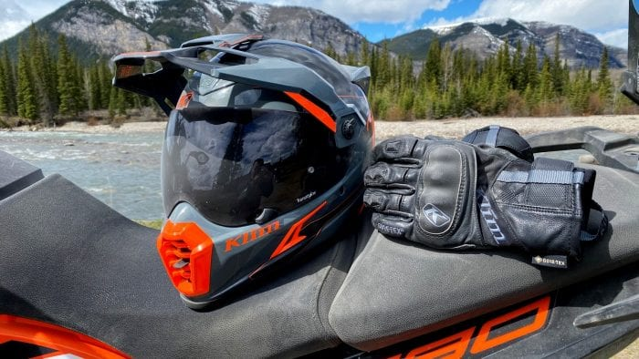 Dusty conditions and the Klim Krios Pro.