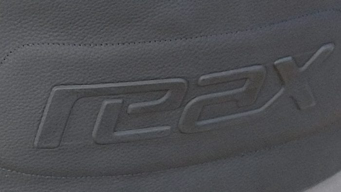 reax embossed logo on apex pro mesh jacket