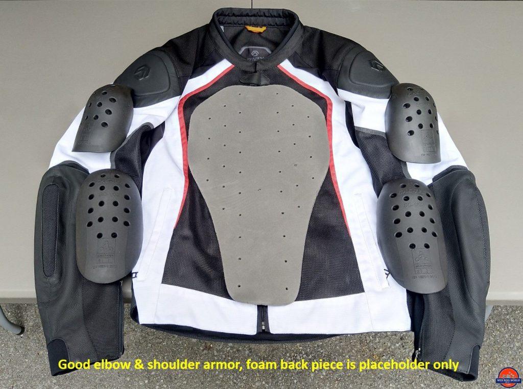 REAX Aprx Pro Mesh Jacket armor