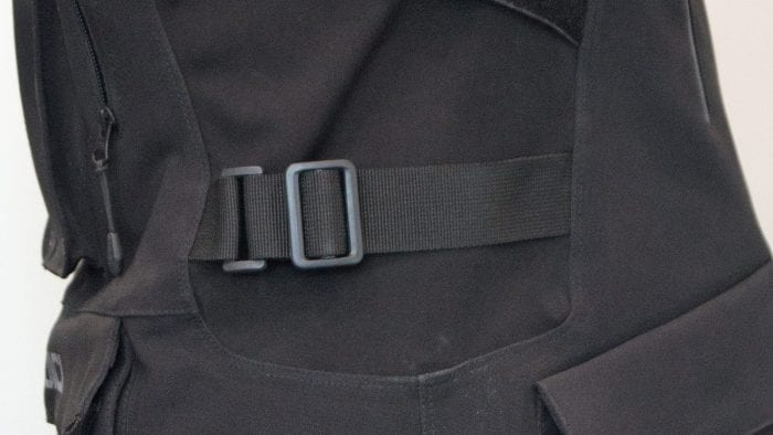 sedici garda jacket side view