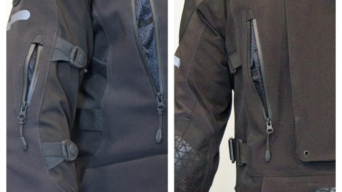 vents on sedici garda jacket