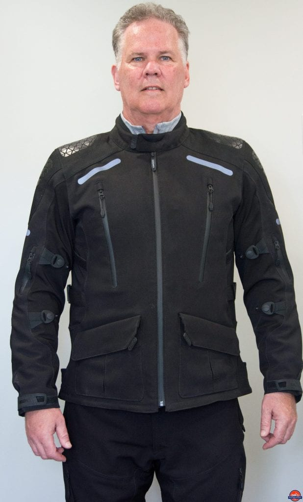 Alan wearing Sedici Garda Jacket