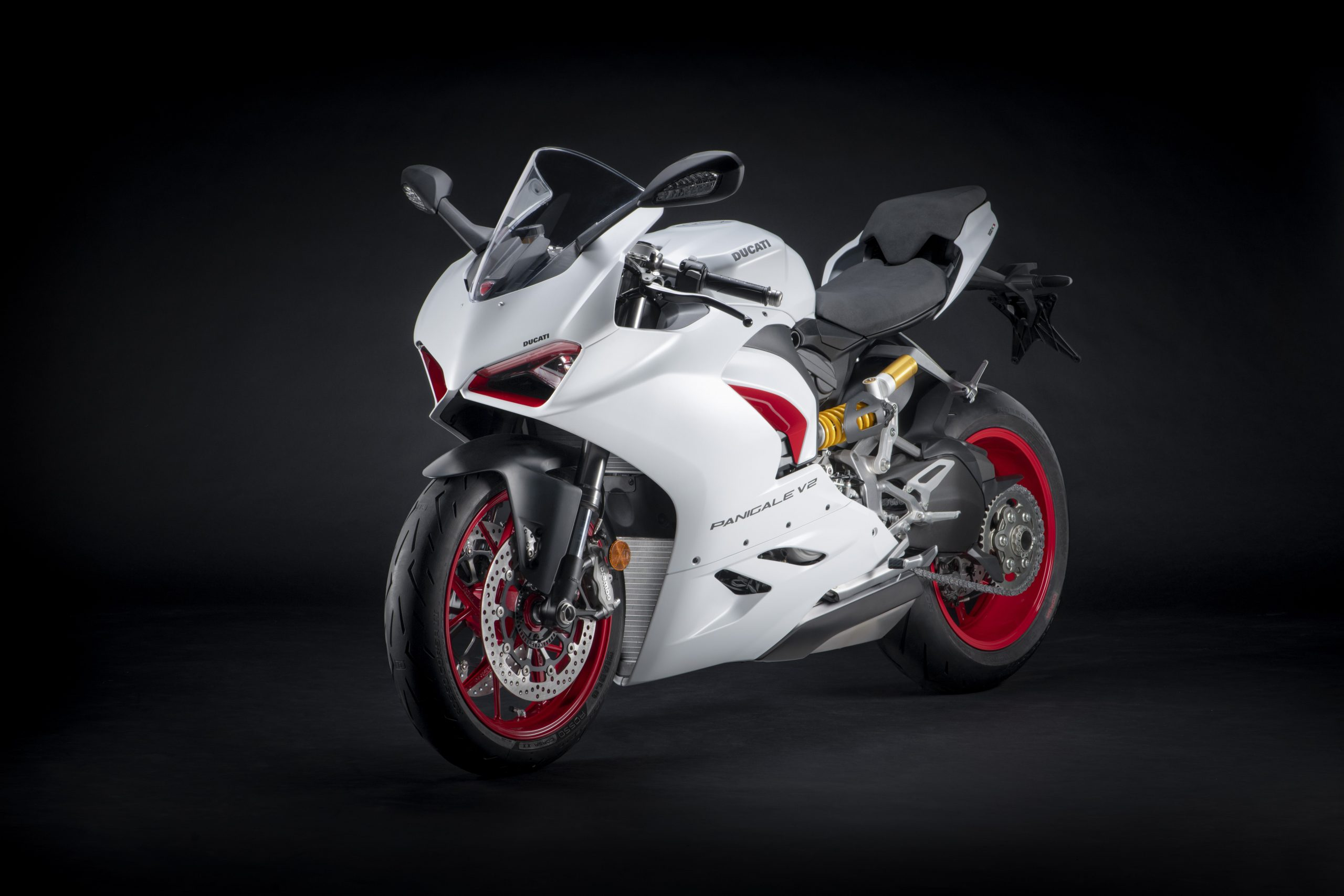 Ducati Panigale V2 white